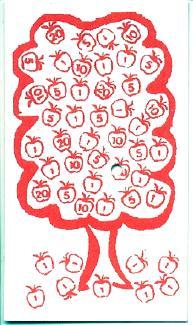 Apple Pickin' Card