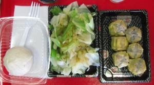 Bao, cabbage, and shumai