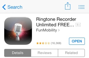 Free Ringtone Recorder