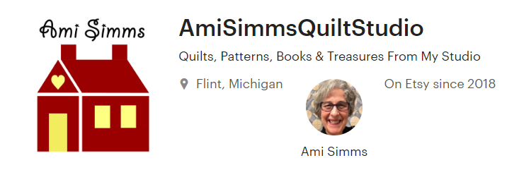 Ami Simms sells on Etsy.com